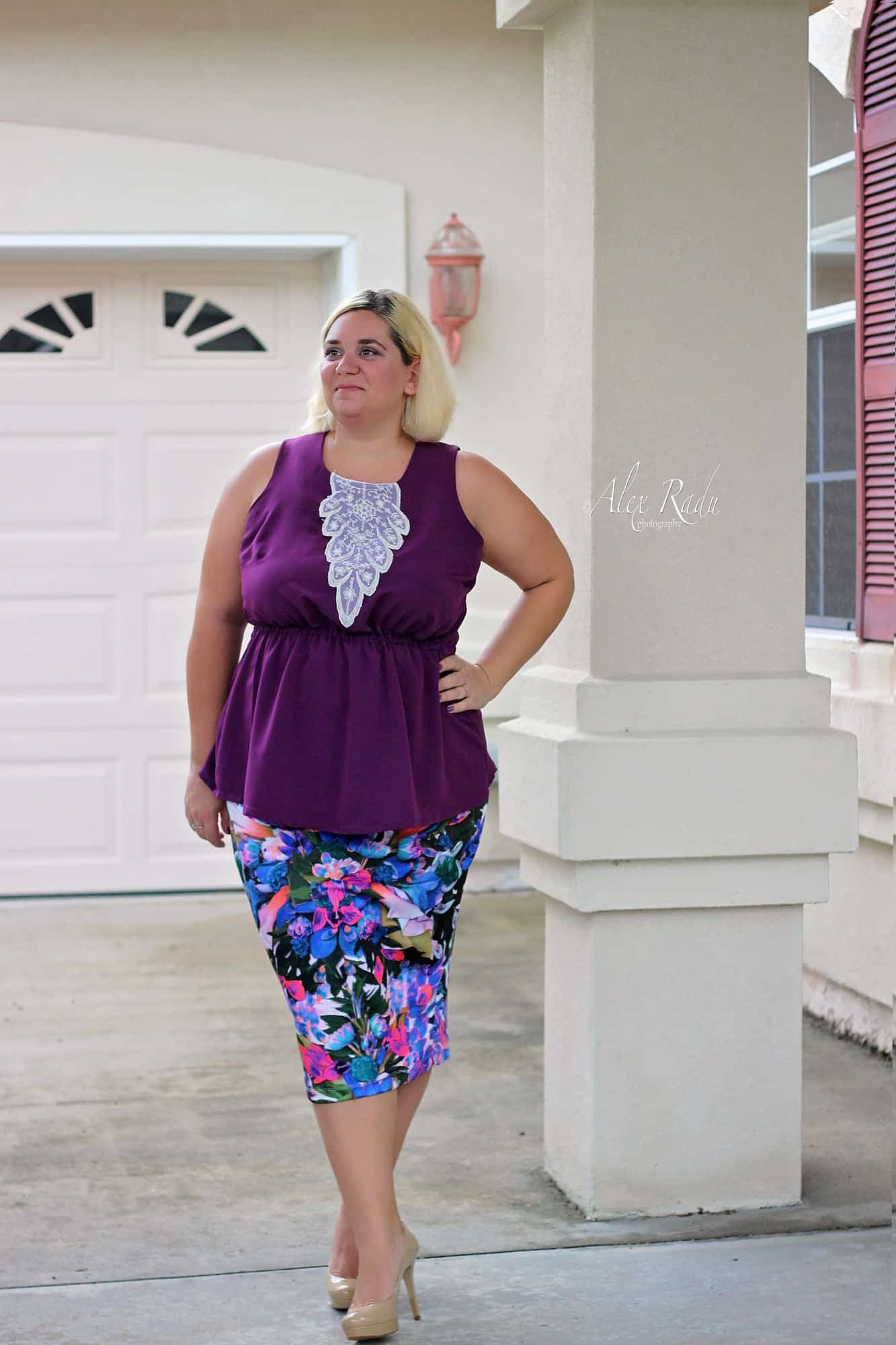 Timeless Tunic and pirate Pencil Skirt